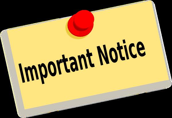 Information regarding COVID-19