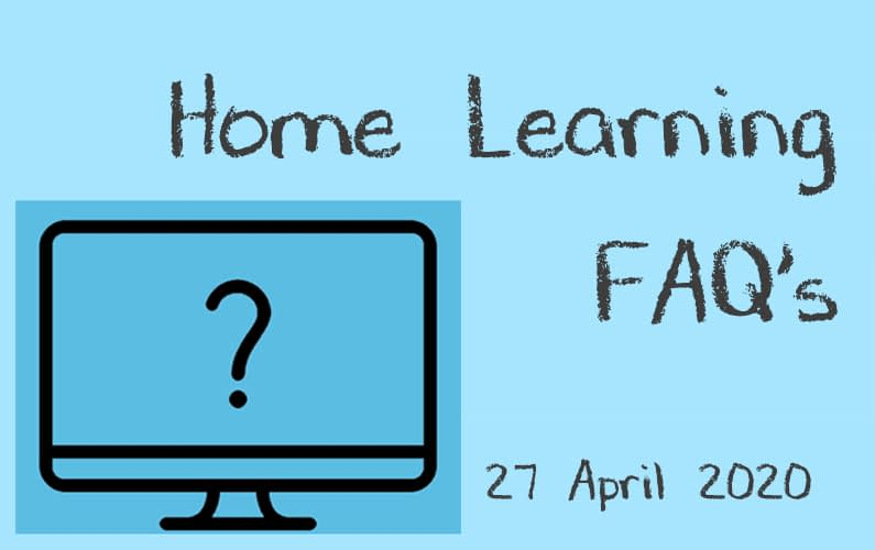 home learning faqs