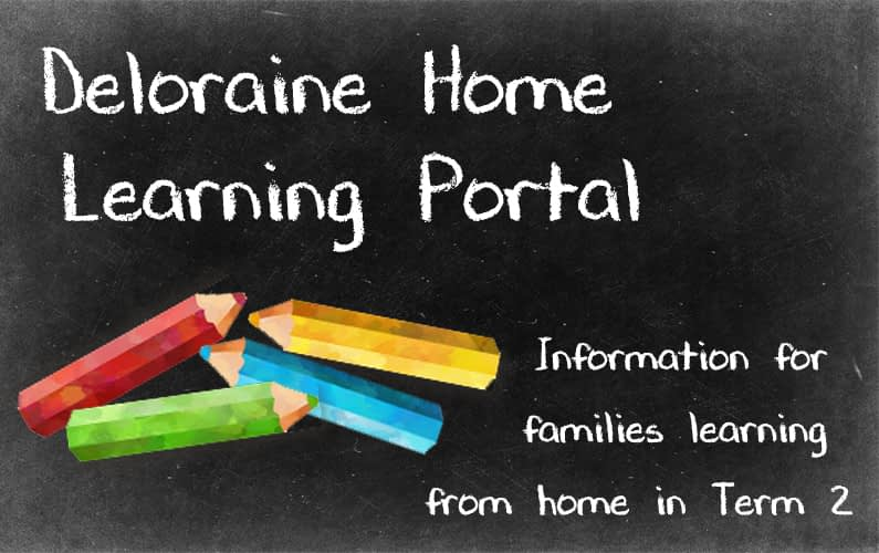 home learning post