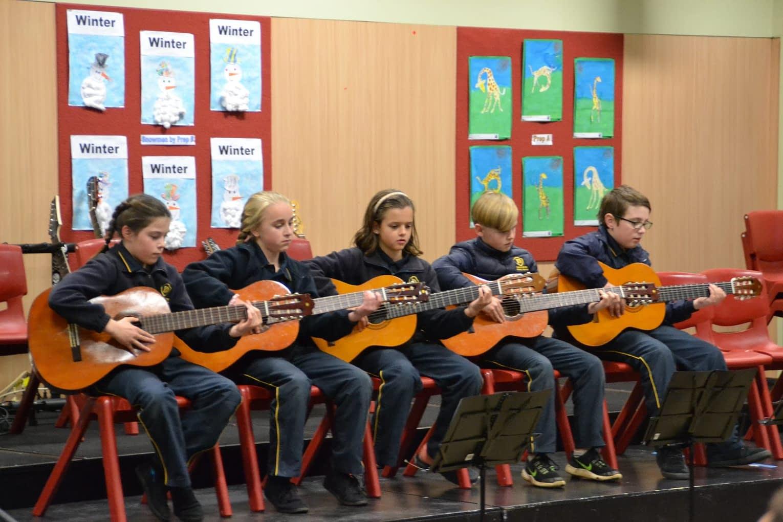 Music at Deloraine Primary School