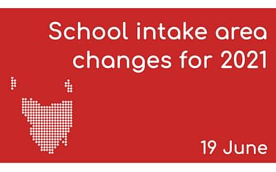 19 June – School Intake Area Changes for 2021