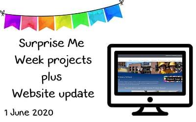 1 June – Surprise Me Week photos plus Website Update