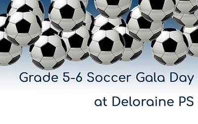 Grade 5-6 Soccer Gala Day