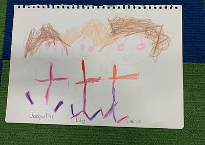 Kinder friends by Lily