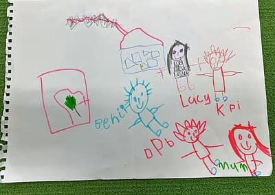 My family by Lucy