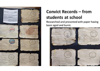 Grade 3-4 Convict records