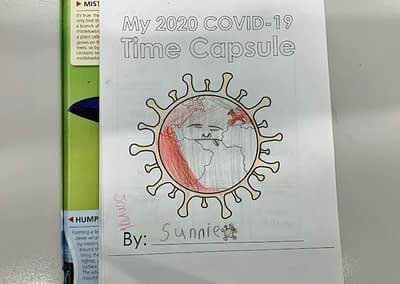 COVID-19 Time capsule - Sunnie