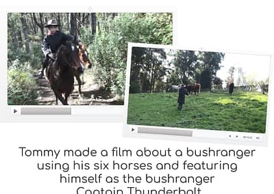 Tommy's bushranger video
