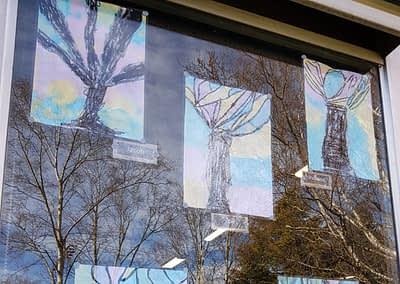 1/2C (Eyles) - Winter Trees