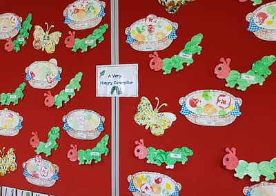 Kinder A (Berne) The Very Hungry Caterpillar