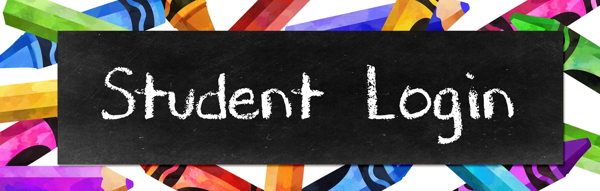student login button