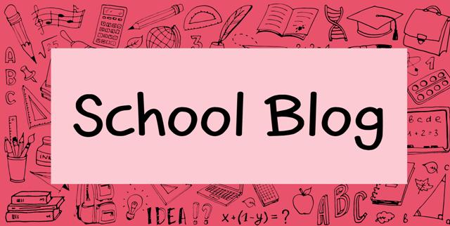 school blog button